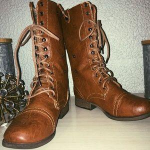 Convertible Combat Boots